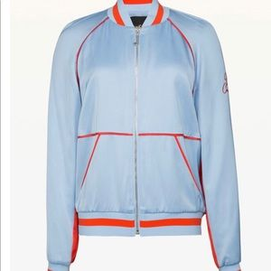 Juice couture satin  bomber jacket